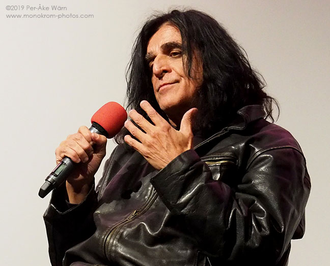 Jaz Coleman of Killing Joke at Soundscreen festival Q&A 2019