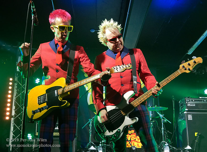 Toy Dolls 40th anniversary tour at Plan B Malmo, Sweden November 2019