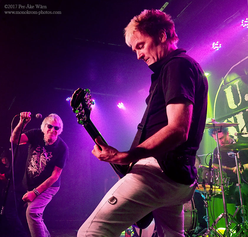 UK Subs celebrating 40 years as a band ai Queens Hall Nuneaton